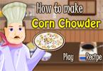 Chowder z kukurydzą