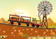 Gra pociągi lego dla dzieci