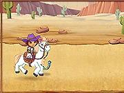 Dora na koniu