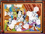 Puzzle 101 dalmatyńczyków