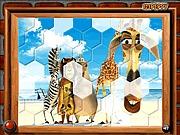 Puzzle Pingwiny z Madagaskaru