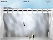 Rzucanie pingwinem dla dzieci