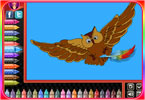 Pokoloruj ptaka
