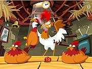 Gra Kogut opiekujący się kurami
