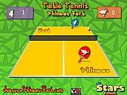 Fineasz i Ferb tenis stołowy