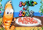 Krewetki słodko kwaśne