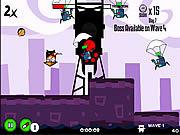 Gra Chomik Ninja vs Roboty Pojedynek