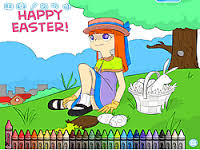 Kolorowanka Wielkanocna dla dzieci
