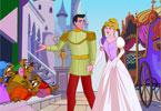 Kopciuszek i jej książę układanka