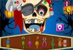 Pirat szkielet u dentysty