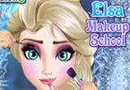 Elsa - makijaż do szkoły