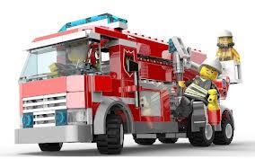 Gra wozy strażackie Lego
