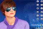 Justin Bieber makijaż