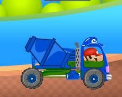 Gra kierowca betoniarki
