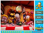 Szukanie gwiazdek Garfield