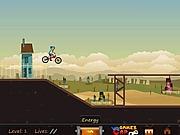 Jazda na rowerze BMX