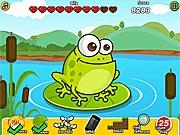 Hodowla żab w stawie