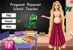 Elsa w ciąży jest nauczycielką