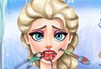 Elsa i bolący ząb