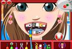 Modelka u dentysty
