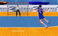 Gra Mistrzostwa Piłki Ręcznej