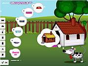 Sprzątanie budy dla psa i budowanie
