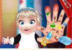 Elsa i zraniona ręka