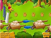 Zbierz miodek dla Kubusia Puchatka