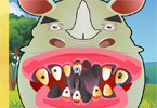 Nosorożec u dentysty