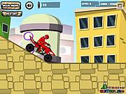 Power Ranger przygoda na motorze