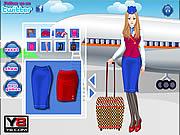Piękna stewardessa