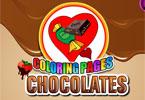 Pokoloruj czekoladki