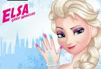 Elsa - wspaniały manicure