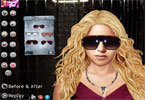 Shakira makijaż