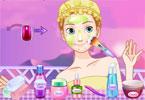 Makijaż Frozen Anna