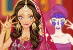 Indyjski makijaż