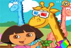 Dora i mała żyrafa