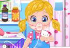 Alergia małej Barbie