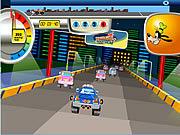 Gra myszka miki jedzie autem