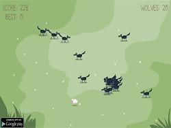 Uciekająca owca