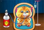 Mały Ginger  w szpitalu