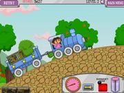 Dora jedzie pociągiem