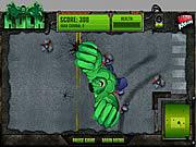Pojedynek Hulk vs armia robotów