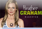 Heather Graham makijaż