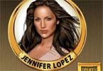 Jennifer Lopez makijaż