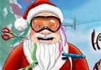 Kolorowa broda Mikołaja