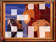 Puzzle z lwem Simba