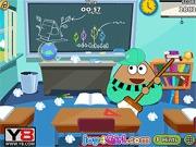 Sprzątanie biurka w klasie i biurze