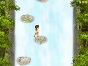 Przygoda Jess w wodospadzie