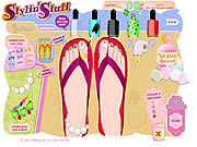 Pedicure studio online